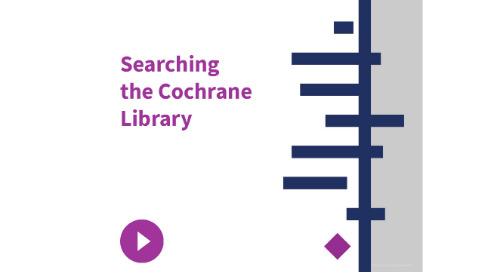 Searching the Cochrane Library