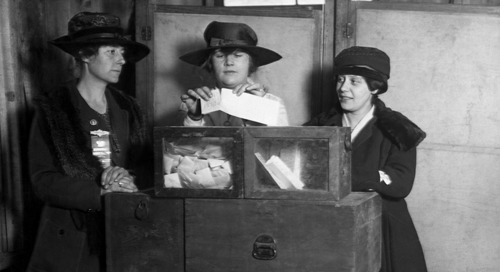 Celebrating 100 Years of Women's Right to Vote