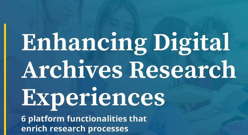 Enhancing Digital Archives Research Experiences