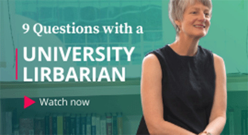 University Librarian Was Told Not to Work in a Library