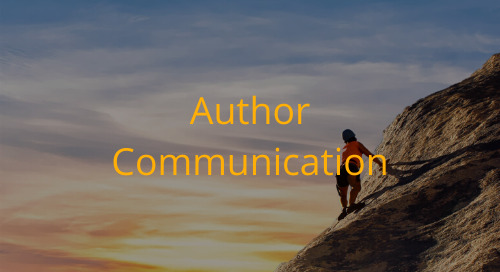 Editorial Office Guidelines: Author Communication