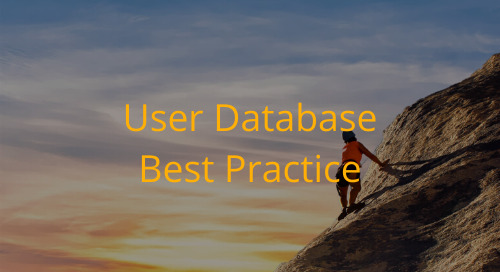Editorial Office Guidelines: User Database Best Practice