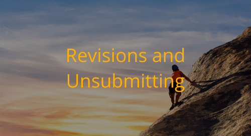 Editorial Office Guidelines: Handling Revisions and Developing Unsubmit Policies