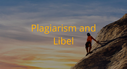 Editorial Office Guidelines: Plagiarism and Libel