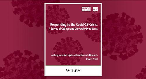 高等教育内部:回应COVID-19危机调查
