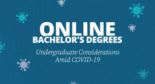 在线学士学位:COVID-19中的本科生考虑因素