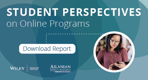 学生对在线课程的看法:威利教育服务支持的学习者调查