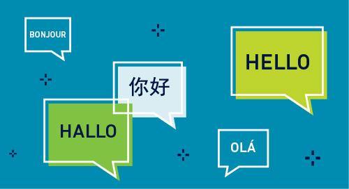 Language Matters: Decentralization and Communication Across the Globe