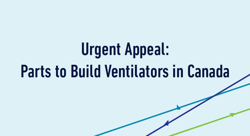 Urgent Appeal: Parts to Build Ventilators in Canada