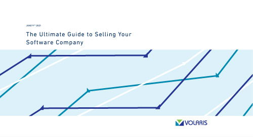 The Ultimate Guide To Selling Your Software Company
