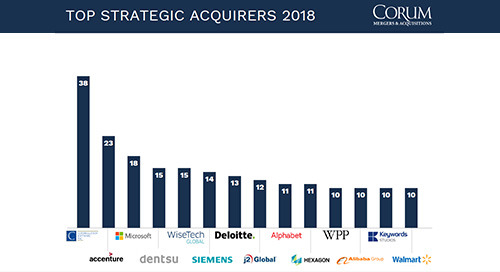 Constellation Software named top strategic acquirer for 2018