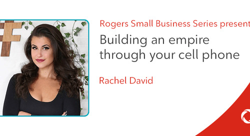 Rachel David's top tips for building an empire on your cell phone