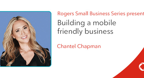 Chantel Chapman's top tips for building a mobile-friendly business