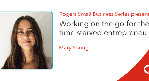Mary Young's top tips for working on the go as a time-starved entrepreneur