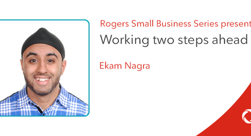 Ekam Nagra's top tips for working two steps ahead