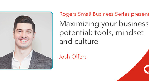 Josh Olfert's top tips for working remotely