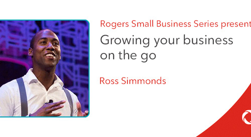 Ross Simmonds' top tips for growing your business on the go