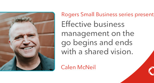 Calen McNeil's top tips for effective business management on the go