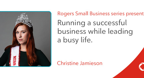 Christine Jamieson's top tips for running a successful business while leading a busy life