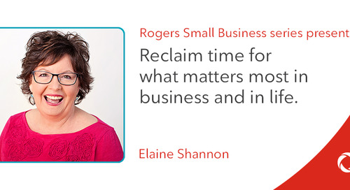Elaine Shannon's top tips for reclaiming time for what matters most in business and in life