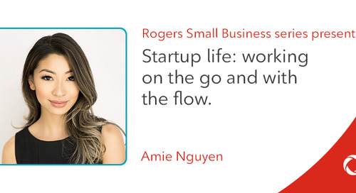 Amie Nguyen's top tips for working on the go and with the flow