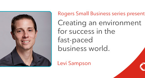 Levi Sampson's top tips for creating an environment for success in the fast-paced business world