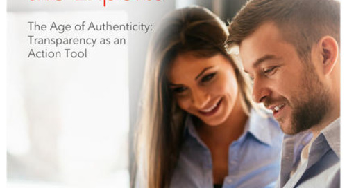 The Age of Authenticity: Transparency as an Action Tool