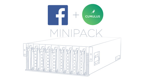Cumulus Networks is excited to announce being the first to power Facebook's next generation, open modular platform, Minipack