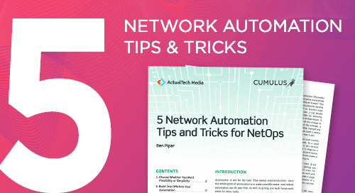 5 network automation tips and tricks