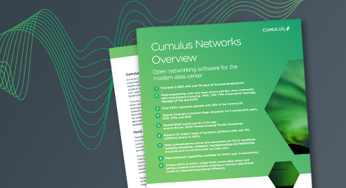 Cumulus Networks Overview