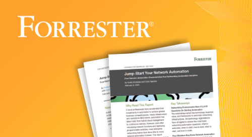 Jump-start your network automation with Forrester