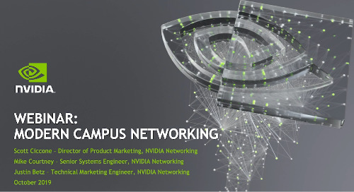 Webinar: Modern Campus Networking