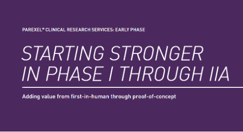 Starting Stronger in Phase I through IIA