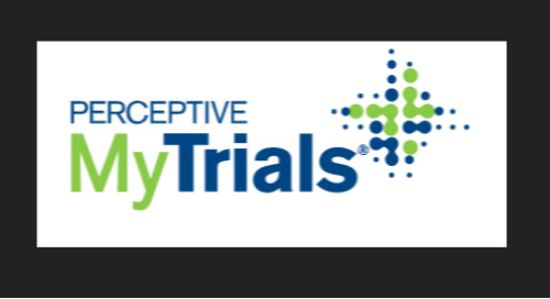 Perceptive my trials Product Overview