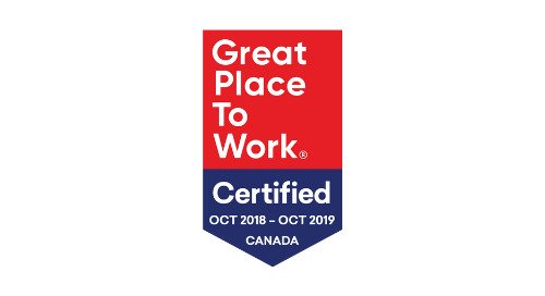 Security Compass Certified as a Great Place to Work®