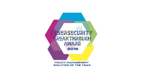 We Won the CyberSecurity Breakthrough Award for Policy Management Solution of the Year!