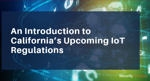 An Introduction to California's Upcoming IoT Regulations