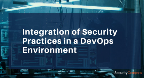 Integration of Security Practices in a DevOps Environment