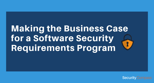 Making the Business Case for a Software Security Requirements Program