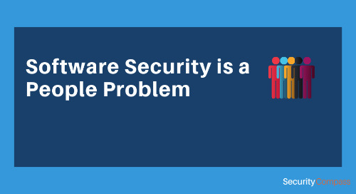 Software Security is a People Problem