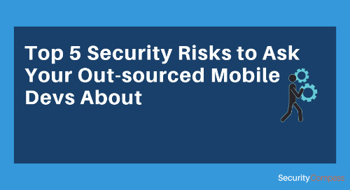 Top 5 Security Risks to Ask Your Out-sourced Mobile Devs About