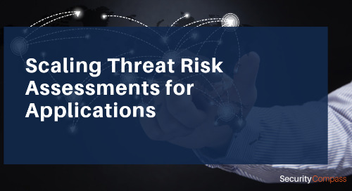 Scaling Threat Risk Assessments for Applications