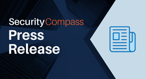 Security Compass Wins 2020 Cybersecurity Breakthrough Award for Application Security Solution of the Year