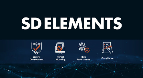 It's Here – SD Elements Version 5!