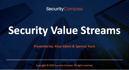 Security Value Streams