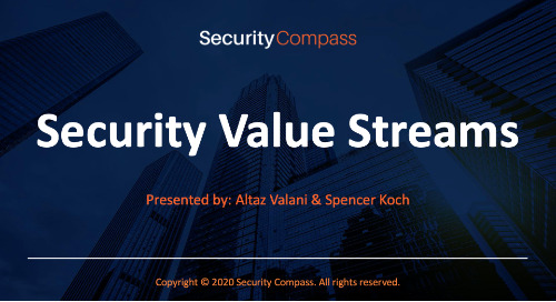 Security Value Streams