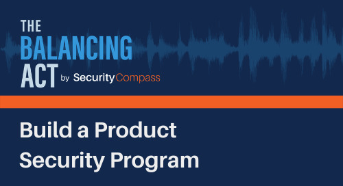 Build a Product Security Program