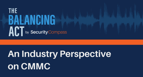 An Industry Perspective on CMMC