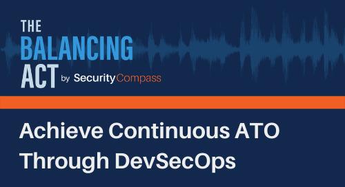 Achieve Continuous ATO Through DevSecOps