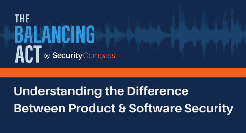 Understanding the Difference Between Product & Software Security